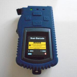 Volumemeter met Scanner Type Cubetape